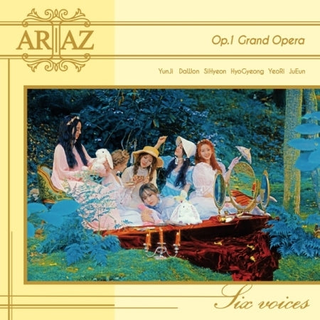[Pre-Order] ARIAZ 1st Mini Album - Grand Opera