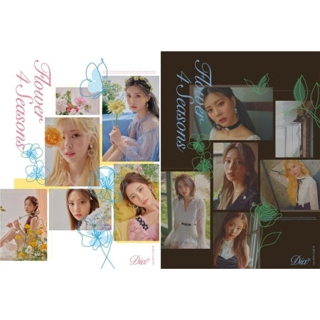[Pre-Order] DIA 6th Mini Album - Flower 4 Seasons
