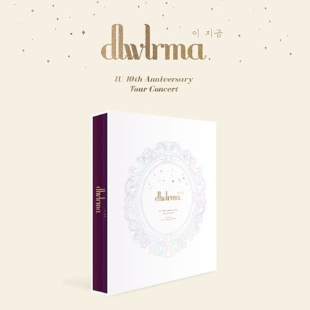 아이유 IU 10th Anniversary Tour Concert - DLWLRMA Photobook + Blu-ray & DVD
