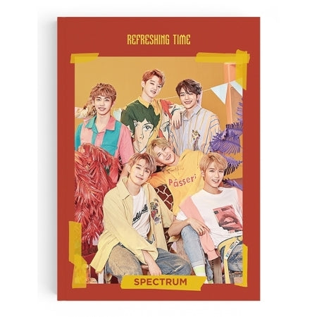 [Pre-Order] SPECTRUM 3RD SINGLE ALBUM - REFRESHING TIME