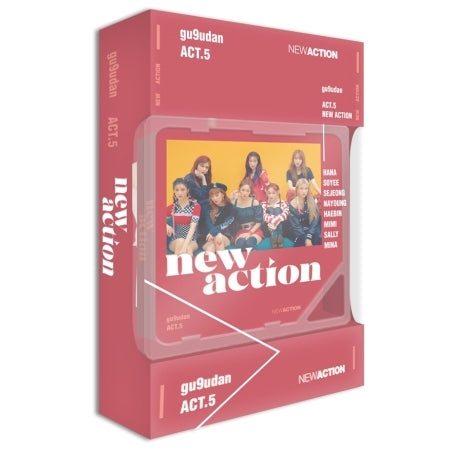 [KIHNO] GUGUDAN 3rd Album - Act.5 New Action Kihno Kit