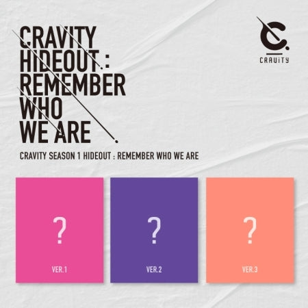 [Pre-Order] CRAVITY SEASON 1 - HIDEOUT: REMEMBER WHO WE ARE