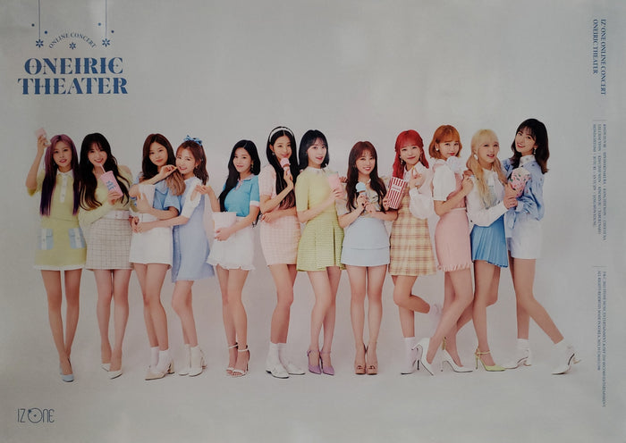 IZ*ONE Online Concert [ONEIRIC THEATER] KiT Video Official Poster - Photo Concept 1