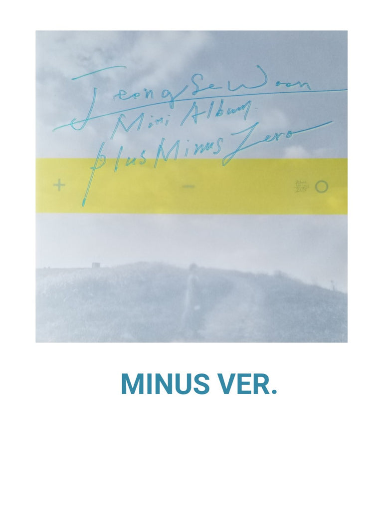 JEONG SEWOON 3RD MINI ALBUM - ±0
