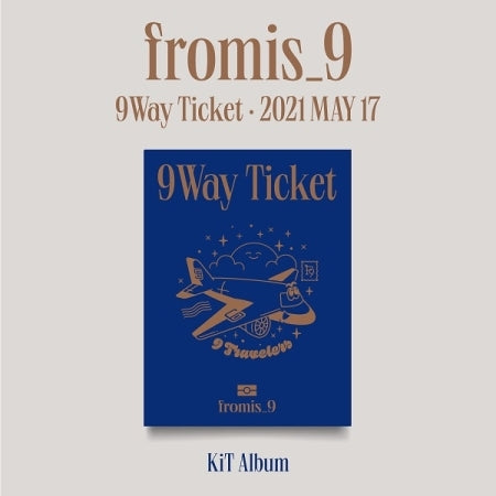 [Pre-Order] FROMIS_9 2ND SINGLE ALBUM - 9 WAY TICKET AIR-KIT