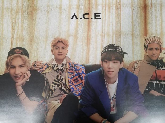 A.C.E ADVENTURES IN WONDERLAND OFFICIAL POSTER (Night, B Version)