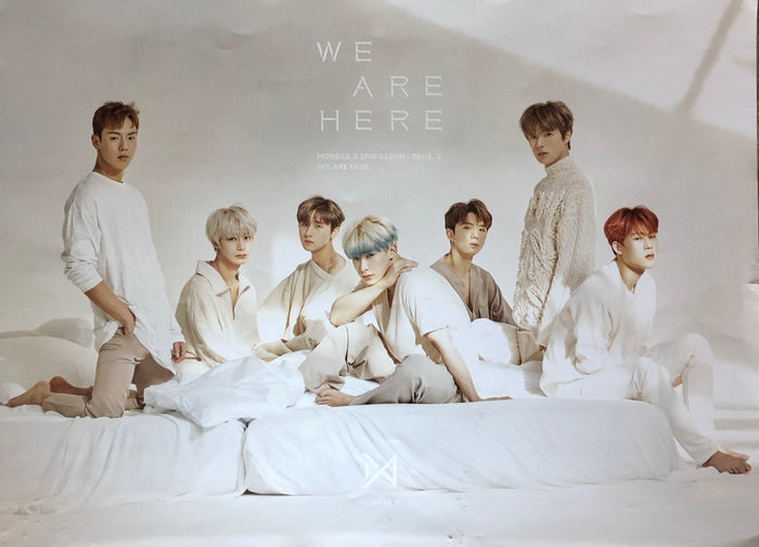 MONSTA X 2ND ALBUM [TAKE.2 WE ARE HERE] OFFICIAL POSTER - PHOTO CONCEPT 4