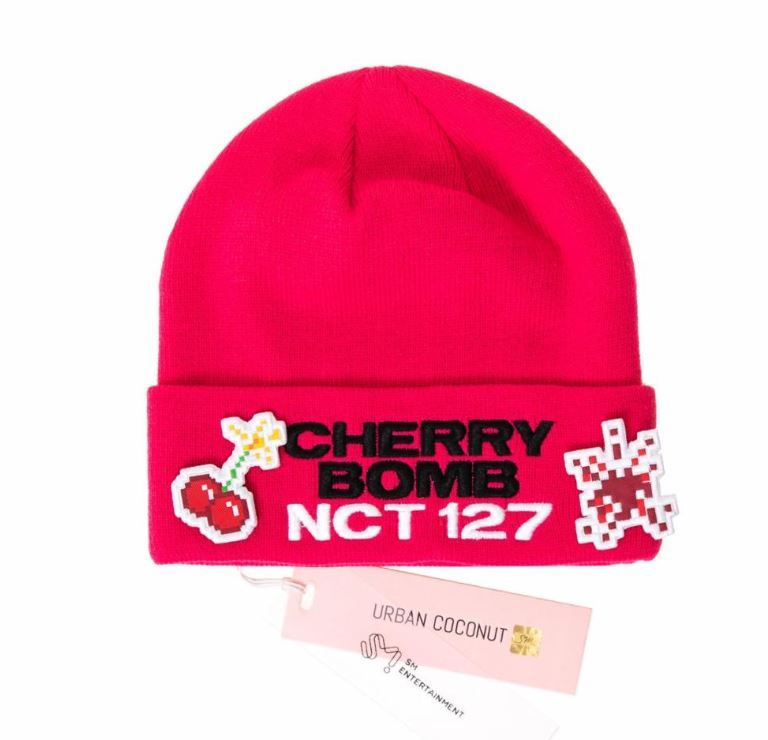NCT 127 SM Official Cherry Bomb Beanie