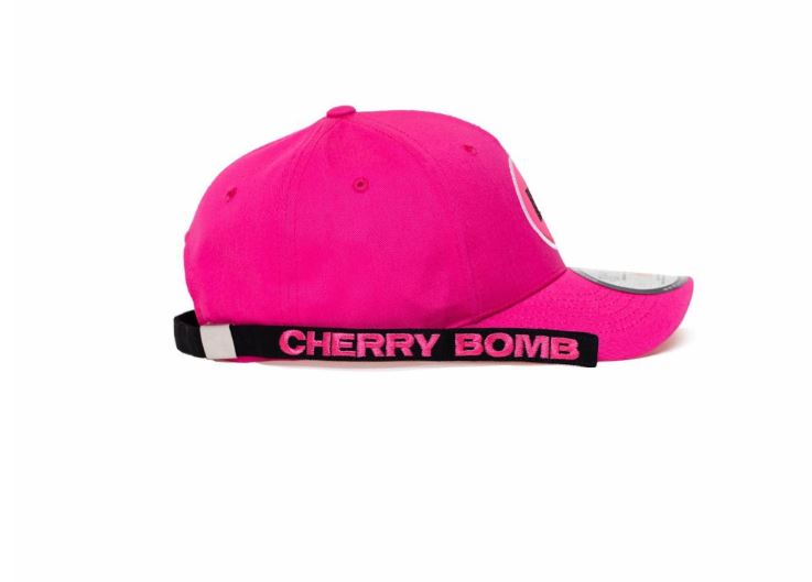 NCT 127 SM Official Cherry Bomb Dad Hat with Long Strap and Rings