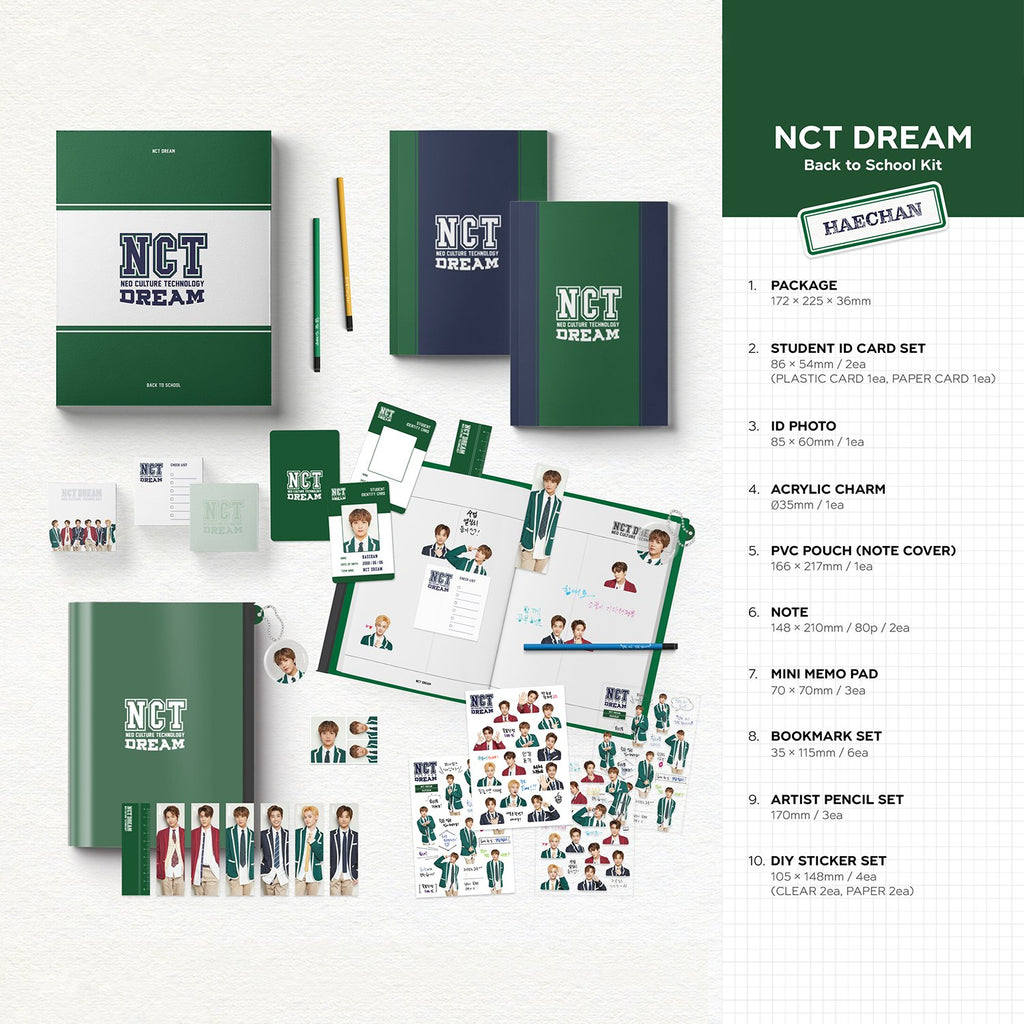 NCT DREAM Back to School Kit 2019