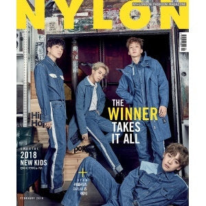 MAGAZINE NYLON KOREA 2018-02 [WINNER, LOVELYZ, KRIESHA CHU]