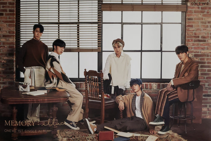 ONEWE 1st Single Album MEMORY : illusion Official Poster - Photo Concept 1