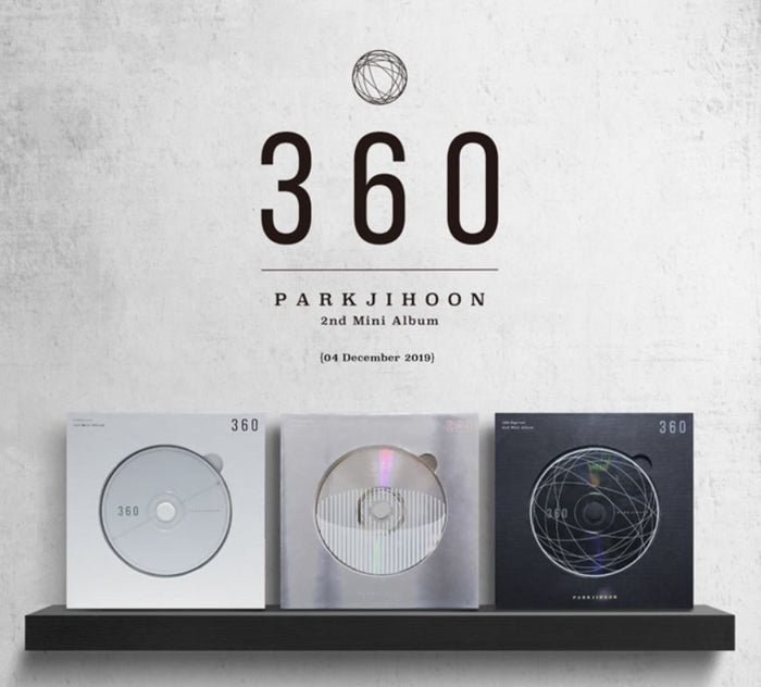 Park Ji Hoon 2nd Mini Album - 360