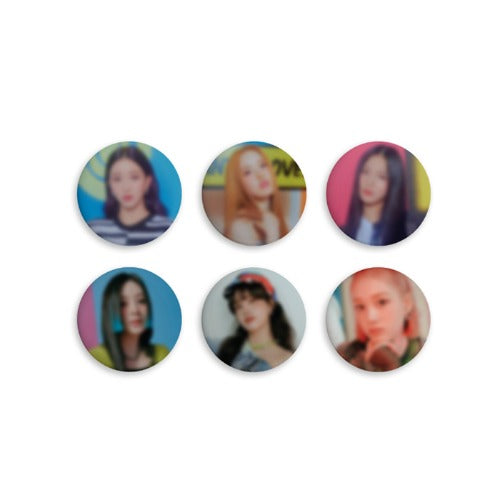 [Pre-Order] STAYC STAYDOM GOODS - PIN BUTTON SET