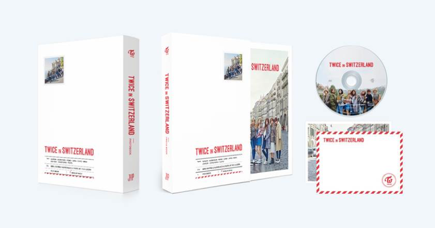 트와이스 TWICE - TWICE TV5 [TWICE IN SWITZERLAND] Photobook