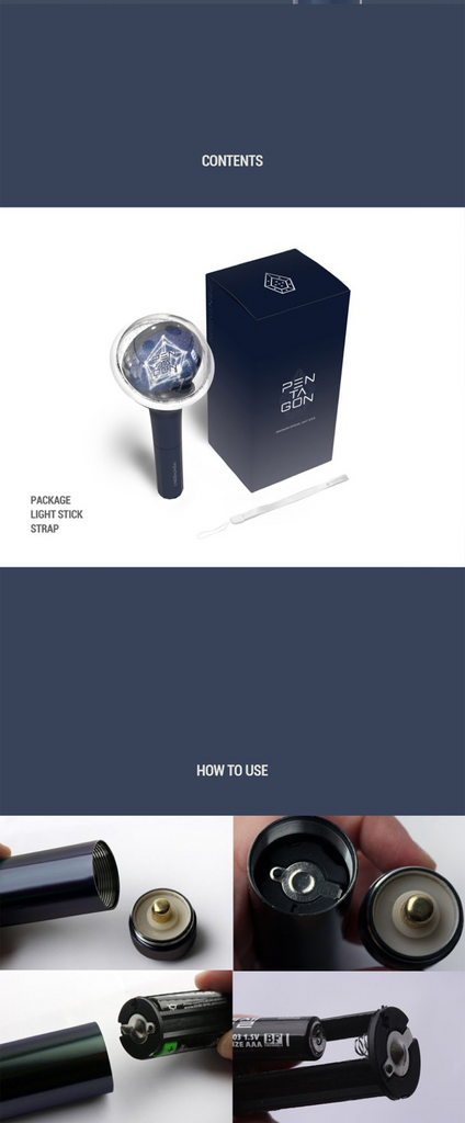 펜타곤 PENTAGON OFFICIAL LIGHT STICK