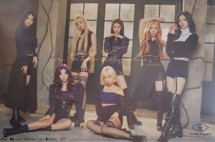 PURPLE KISS 1st Mini Album Into Violet Official Poster - Photo Concept 2