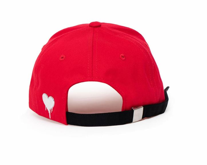 Red Velvet SM Official  Bad Boy Dad Hat with Long Strap and Rings