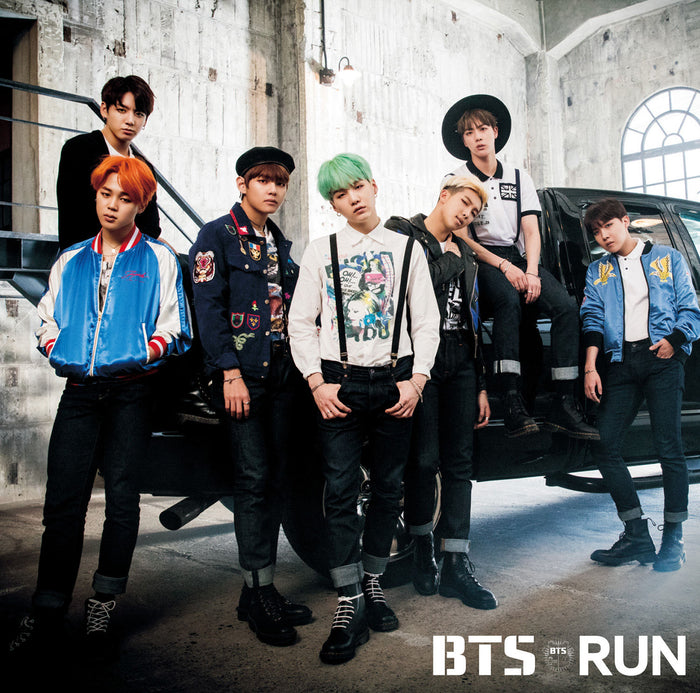 BTS Japanese Release - Run