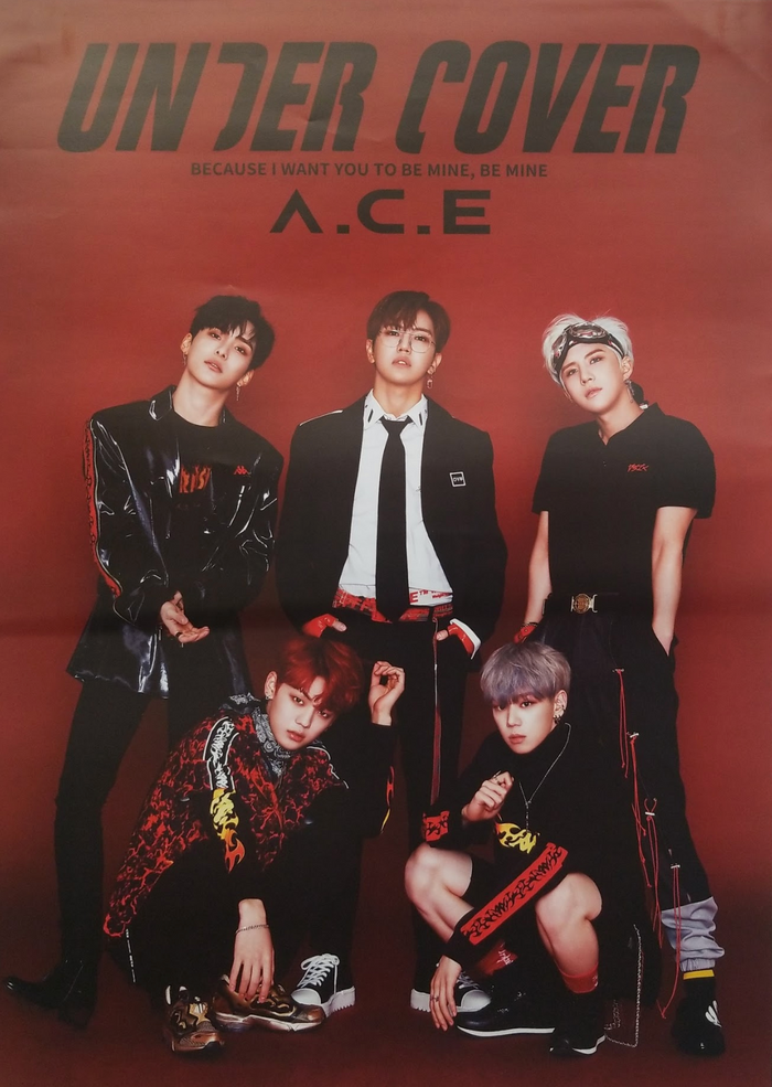 Ace 2nd Mini Album Under Cover Official Poster - Photo Concept 1
