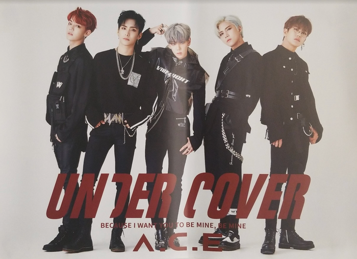 Ace 2nd Mini Album Under Cover Official Poster - Photo Concept 3