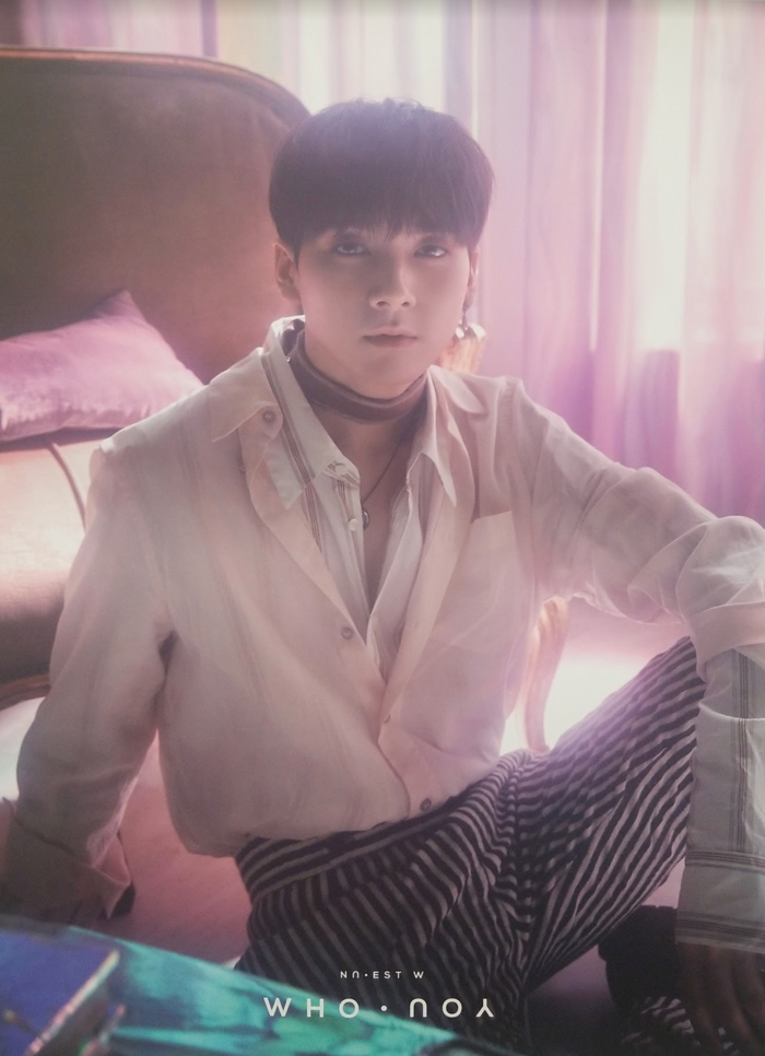 Nuest W 2nd Mini Album Who You Official Poster - Photo Concept Aron