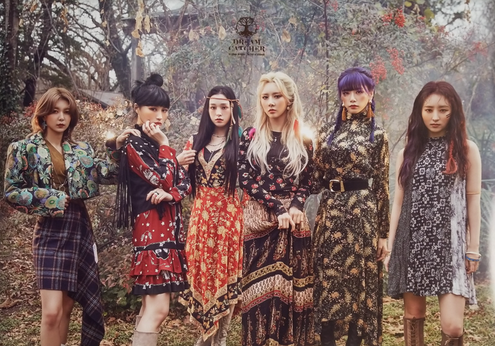 Dreamcatcher 1st Album Dystopia Tree of Language Official Poster - Photo Concept A