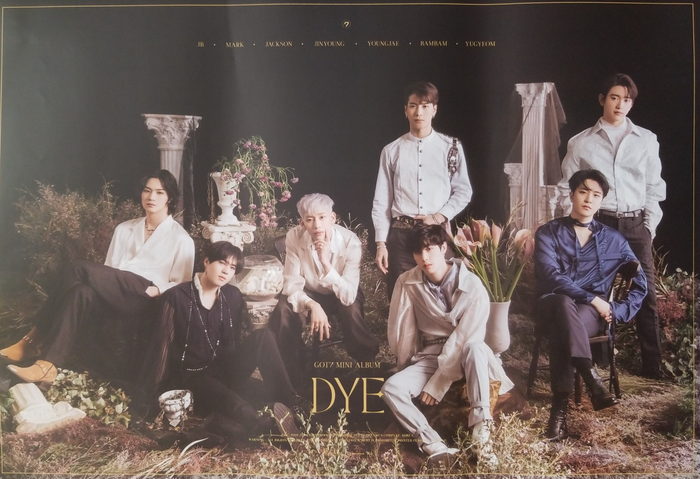 GOT7 Mini Album Dye Official Poster - Photo Concept 1