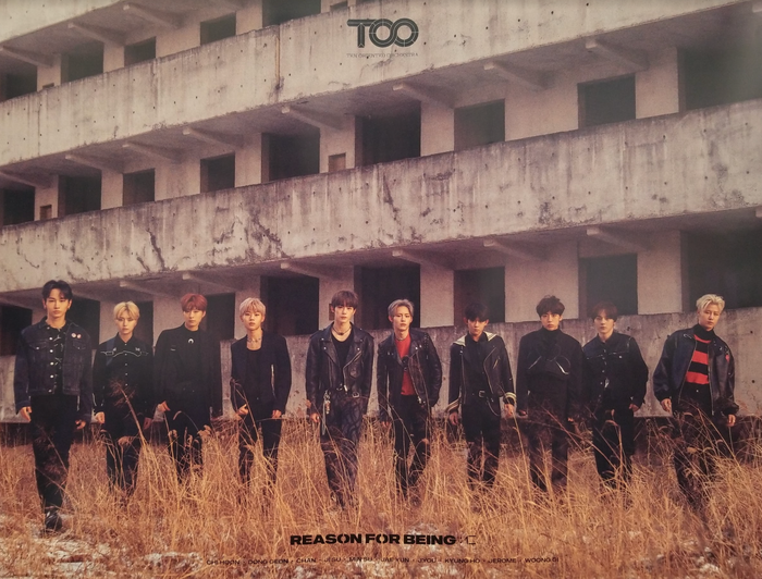TOO 1st Mini Album Reason for Being Official Poster - Photo Concept 2