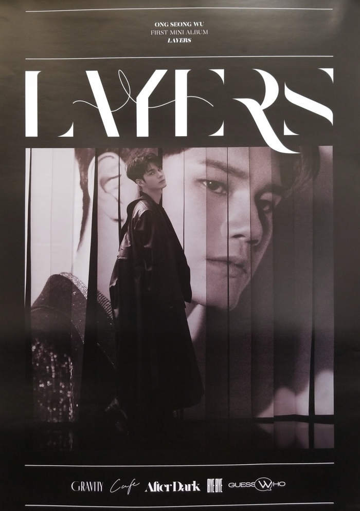 Ong Seongwu 1st Mini Album Layers Official Poster - Photo Concept 2