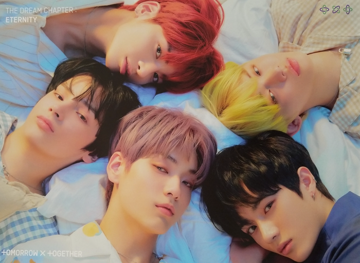 TXT 1st Album The Dream Chapter : Eternity Official Poster - Photo Concept Star Board