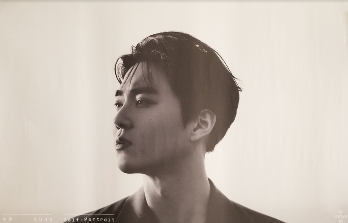 Suho 1st Mini Album Self-Portrait Official Poster - Photo Concept Achieve #2