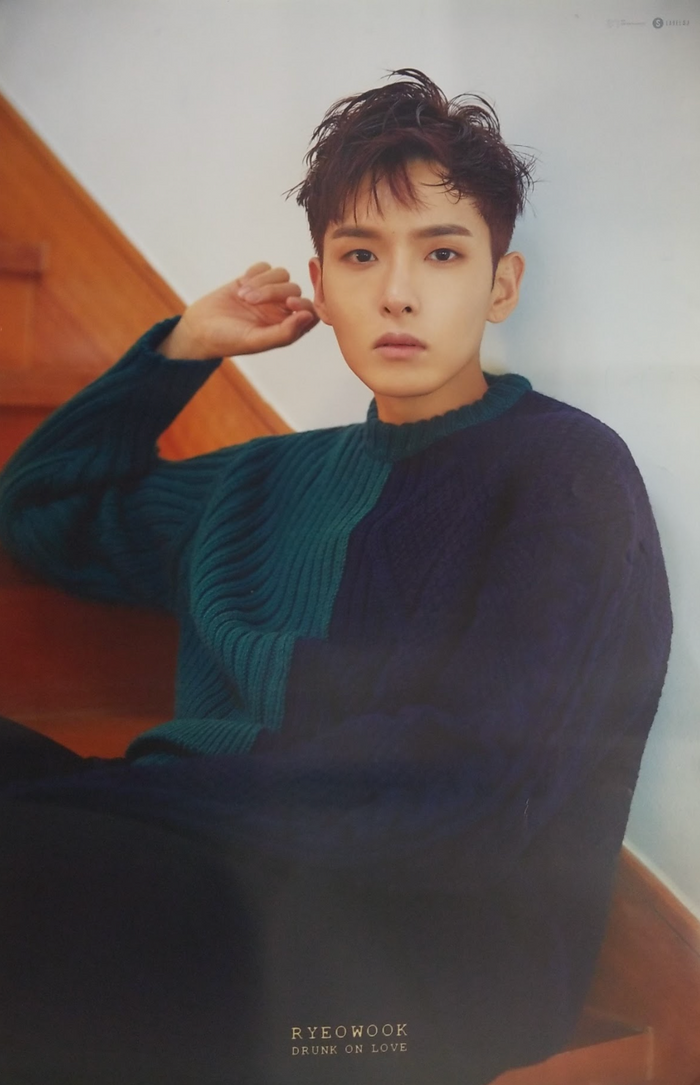 Ryeowook 2nd Mini Album Drunk On Love Official Poster - Photo Concept 1