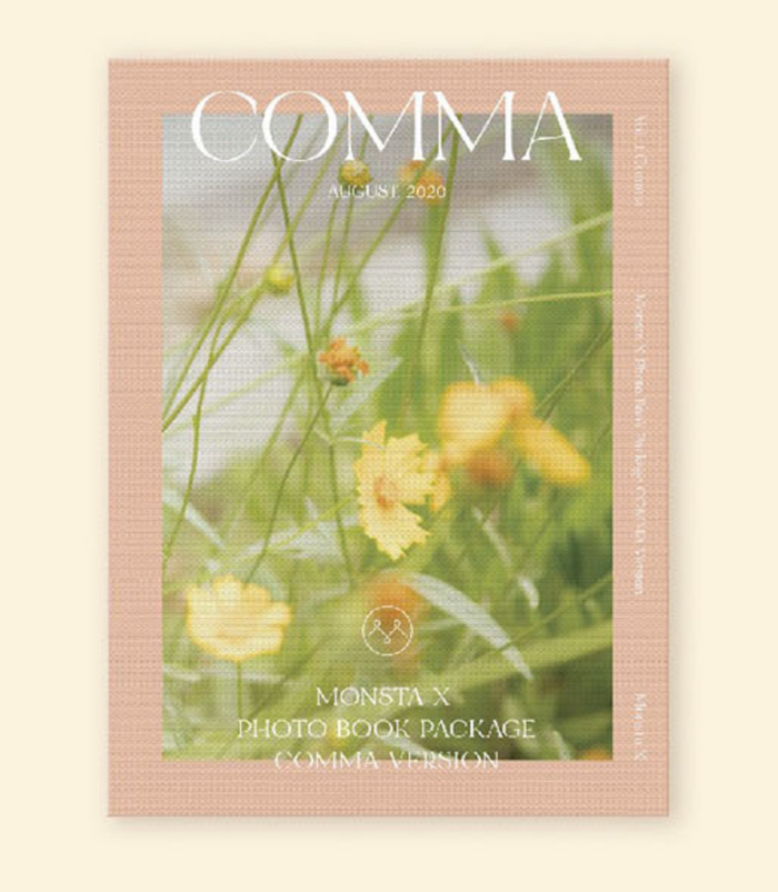 [Pre-Order] MONSTA X 2020 PHOTOBOOK [COMMA]