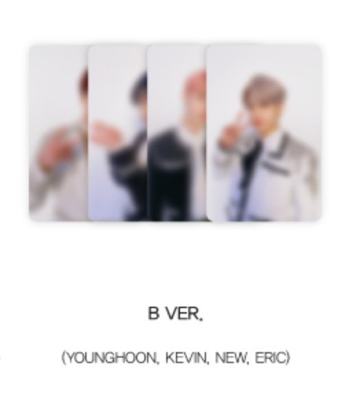 The Boyz Special Edition Official Merchandise - AR Photocard Set