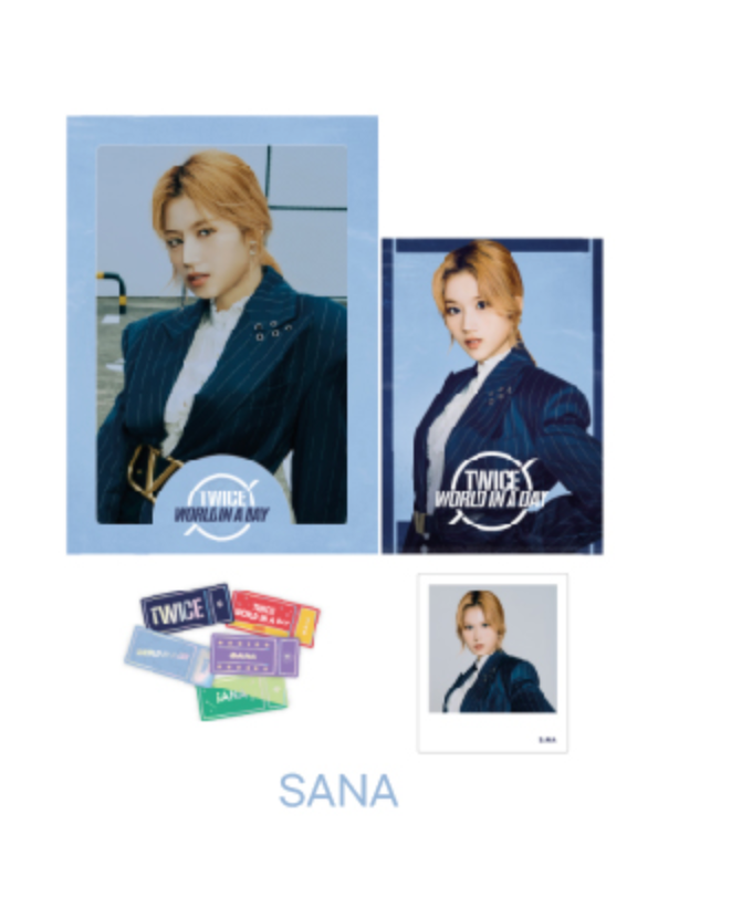 TWICE 2020 World in A Day Official Merchandise  - Photo Film Set