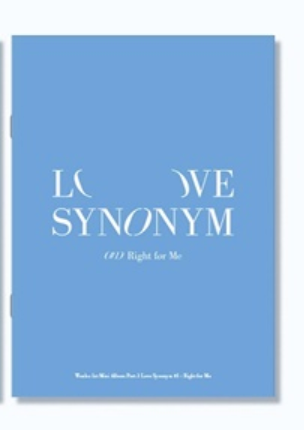 WONHO 1st Mini Album - LOVE SYNONYM 1. Right For Me