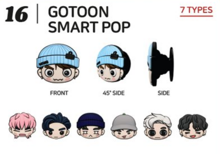[Pre-Order] GOT7 2020 Summer Store Official Merchandise - GoToon Smart Pop