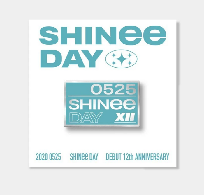 SHINee Debut 12th Anniversary Official Merchandise - Badge Set