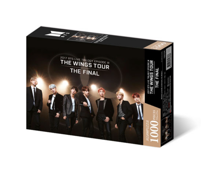 [Pre-Order] BTS - World Tour Poster Jigsaw Puzzle Set Version 1 (Wings Tour)