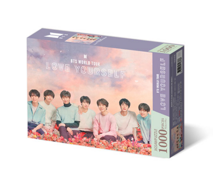 [Pre-Order] BTS - World Tour Poster Jigsaw Puzzle Set Version 2 (Love Yourself Tour)