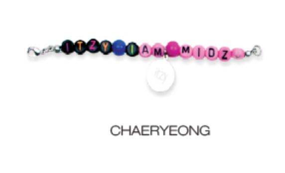ITZY Light Ring Pop Up Official Merchandise - Beads Ring
