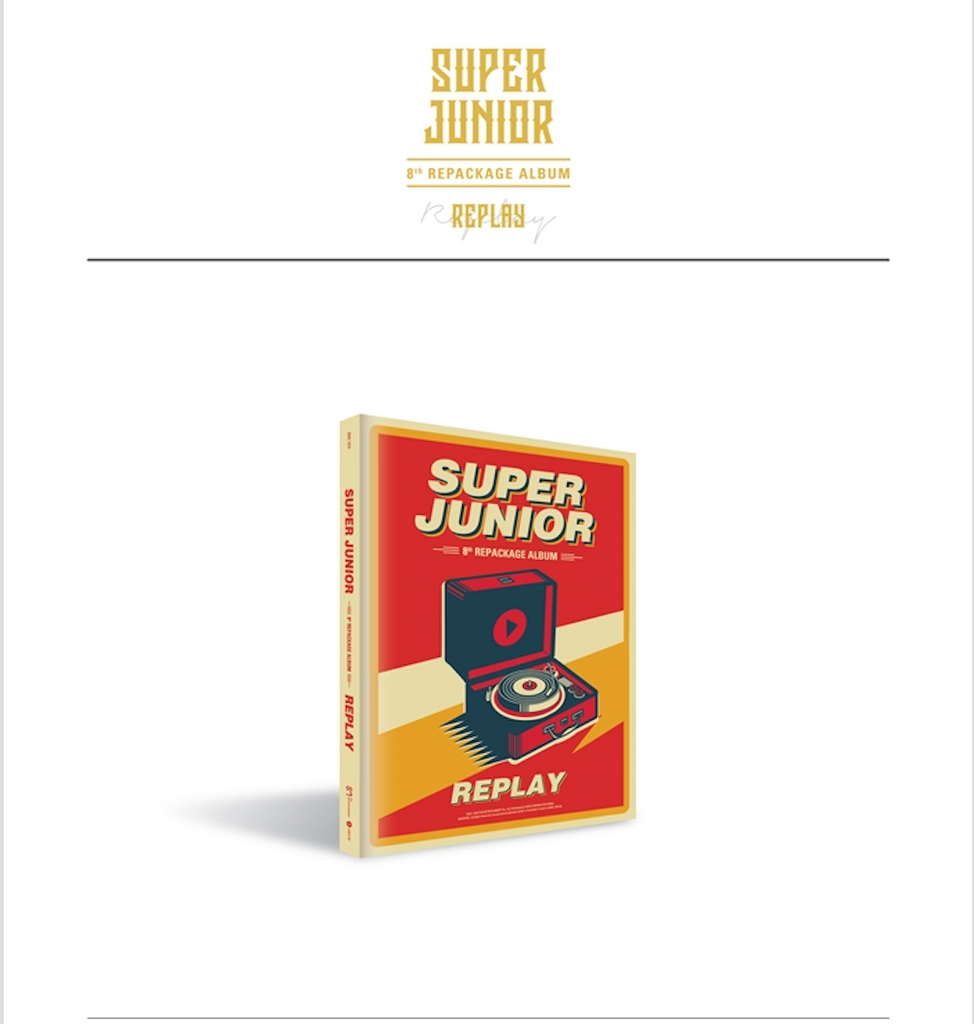 슈퍼주니어 SUPER JUNIOR -REPLAY (REGULAR EDITION)