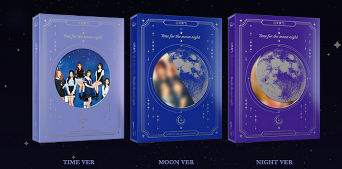 [Pre-Order]여자친구 GFRIEND TIME FOR THE MOON NIGHT