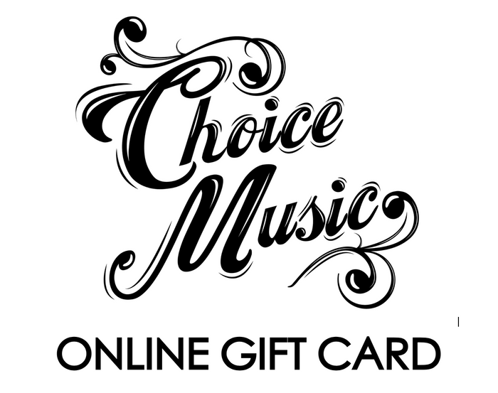 Choice Music Gift Card