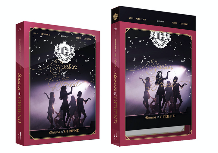 [Pre-Order] 여자친구 GFRIEND Blu-ray 2018 FIRST CONCERT [SEASON OF GFRIEND]
