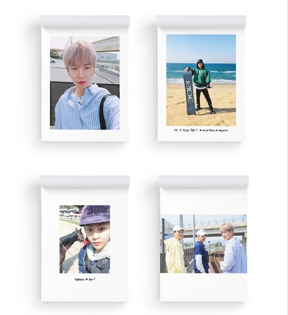EXO-CBX OFFICIAL GOODS - SELFIE BOOK