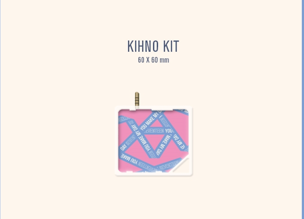 [KIHNO] Seventeen 5th Mini Album - You Make My Day (Set the Sun Version) Kihno Kit