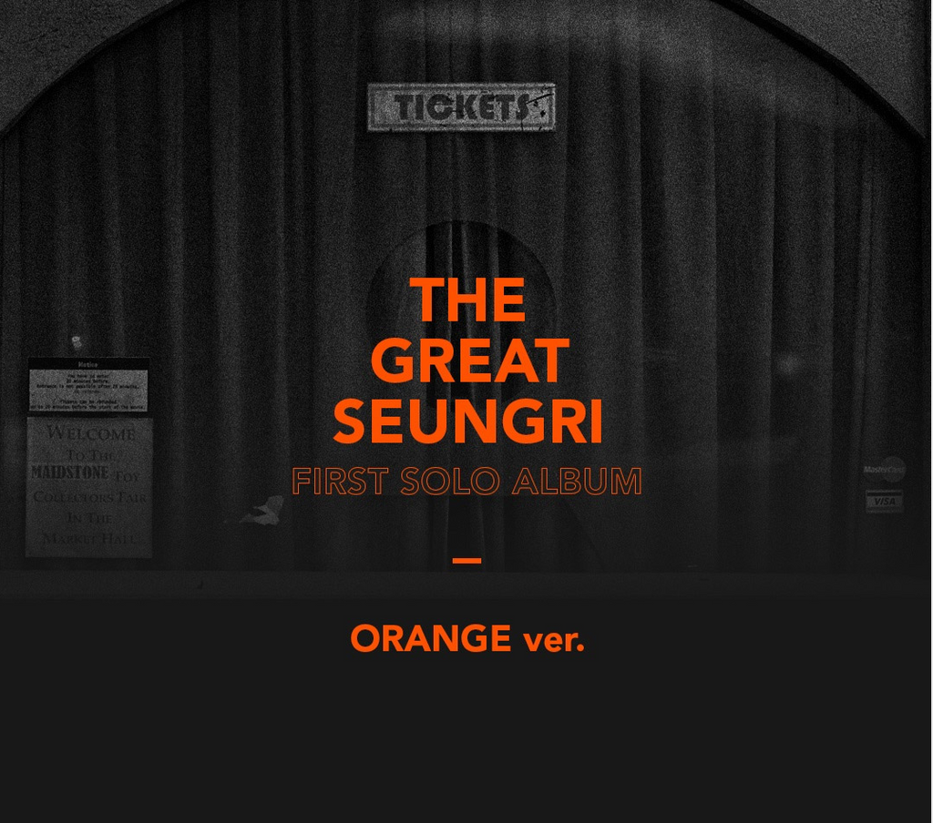 승리 BIGBANG SEUNGRI 1ST ALBUM - THE GREAT SEUNGRI