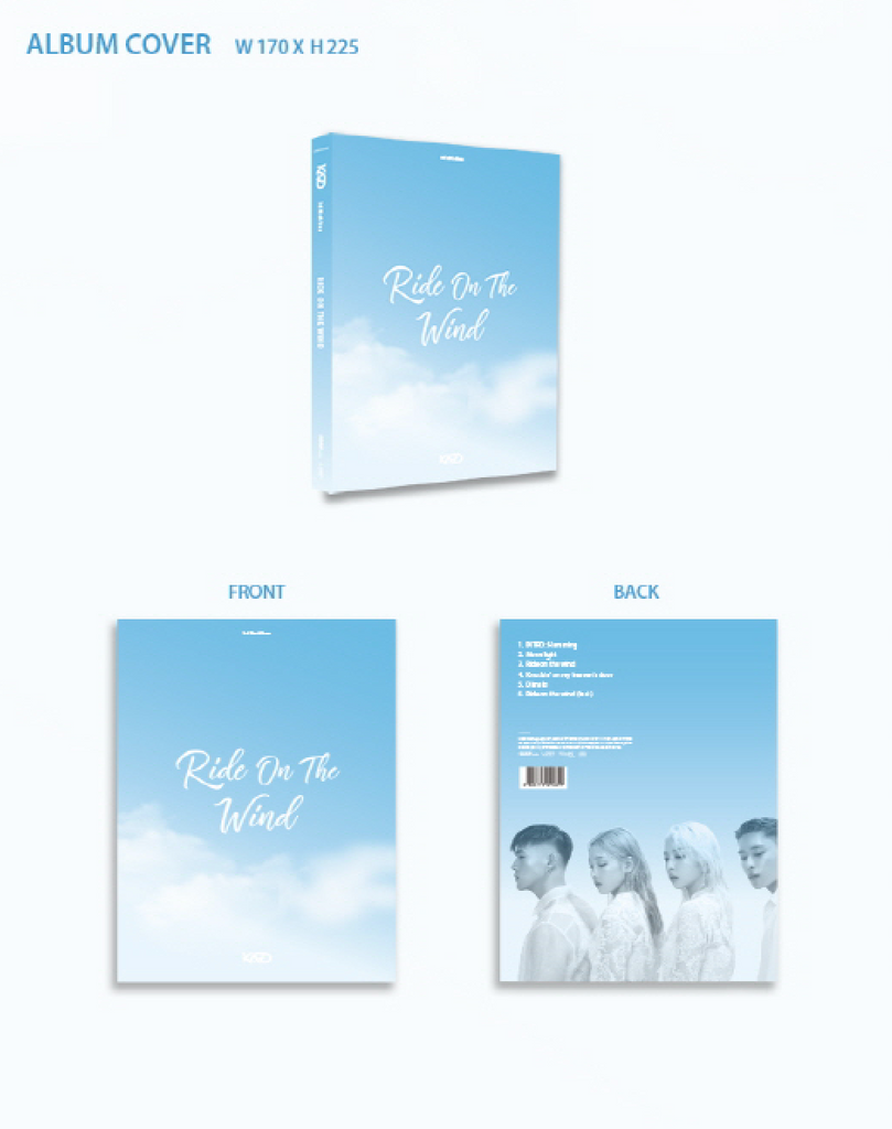 KARD 3RD MINI ALBUM RIDE ON THE WIND